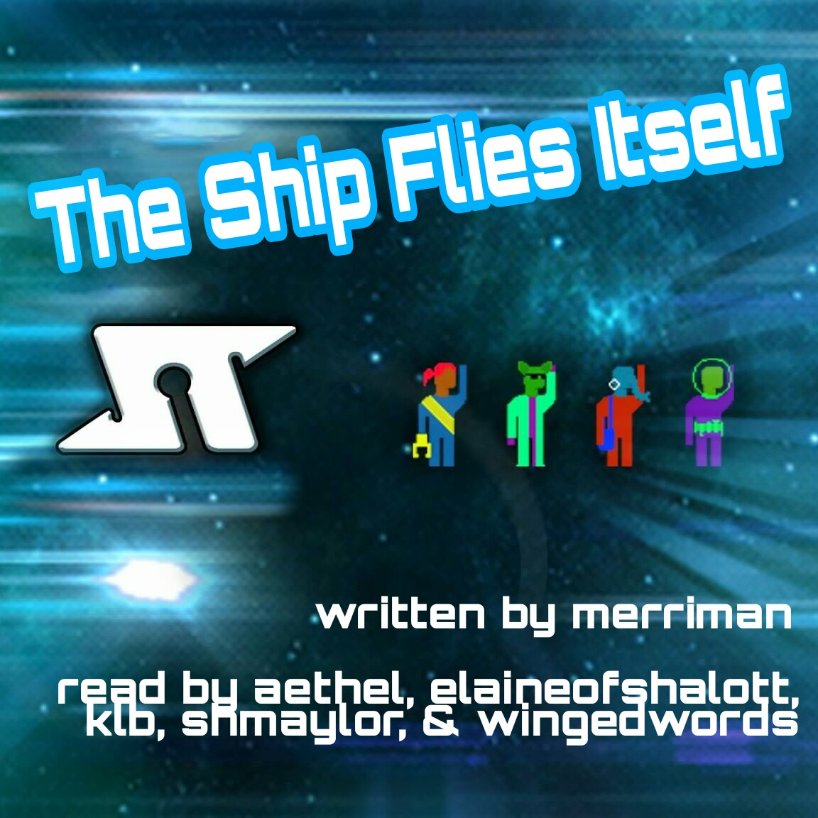 The Ship Flies Itself Cover Art